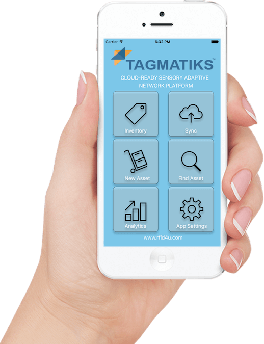 RFID Uniform Management utilizes Tagmatiks RFID App.