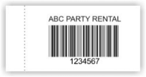 barcode sew on label